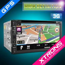 "XTRONS 6.95"" touch creen 2 din dvd player dynamic UI multimedia Car PC multimedia entertainmet GPS/wifi/3g/bluetooth/radio/IPOD"
