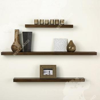 wooden hidden bracket shelf wooden floating shelf wall. Black Bedroom Furniture Sets. Home Design Ideas