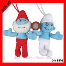 Alta calidad Smurfs peluche de juguete de peluche 15% de descuento temporada