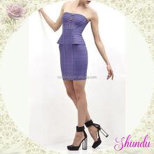 Fashion TOP quality 2015s knee-length chiffon evening dresses online shopping