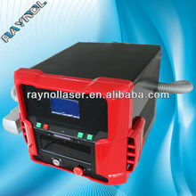KTP Laser Portable 1064nm 532nm Q Switched Nd:YAG Laser Tattoo Removal , Pore Refining Machine
