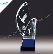 trofeos de cristal campos de deporte hechas en China