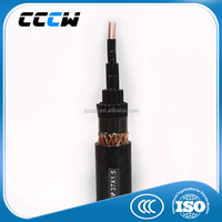 Copper conductor twisted pair fire resistant PVC insulated PVC sheathed control computer cable
