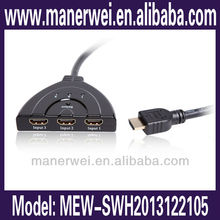 High quality fashionable hdmi av switch