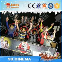 Factory Price Amusement Park china amusement motion cinema roller coaster simulator mini 5d film game machine
