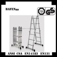 """15.5"""" Aluminum Multi-function Folding Step Ladder extender"""