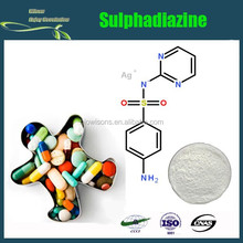 High quality Sulphadiazine CAS 68-35-9 in bulk stock, worldwide fast delivery
