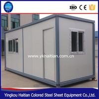 Prefab modified renovated sea shipping container house design /shipping container homes for sale