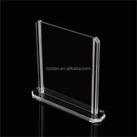 Acrylic photo frame /167*41*172mm acrylic picture frame, acrylic ad frame