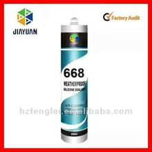 300ml neutral high thermal conductive silicone sealant used in the cars and windows with high performance