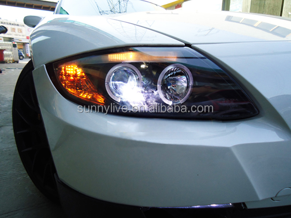 Pour Bmw Z4 E85 Phare Angel Eyes 2003 2008 Ano Sn