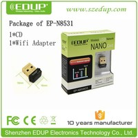 EDUP 150Mbps mini wifi dongle wireless wifi usb adapter with rt3070 chipset