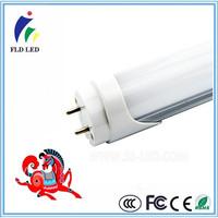 85-265V 50-60Hz >80LM/W 9W 18W 2FT 4FT PF>0.9 t8 led tube with battery backup