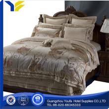 full bed 2014satin fabric famous designer brand bedding set