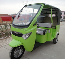 Indian electric passenger auto rickshaw