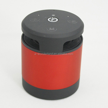 High Quality Gesture Recognition Mini Cylinder Hand-free Portable Bluetooth Speaker Read SD card