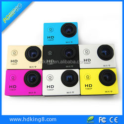 Hot sale 1080P FullHD built-in battery waterproof sports Diving Bicycle action camera MINI DV