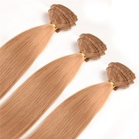 20inch 120gram Wholesale Brazilian Hair One Piece Afro Kinky Curly Clip in Hair Extensions for White Women Free Sample