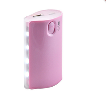Lithium ion battery china online shopping 4pcs led torch flashlights mobile chargers power bank made in China