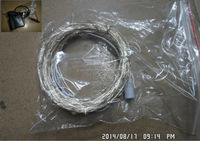10meter led copper string light with DC plug and adapter warm white