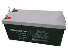12v200ah rechargeable valve regulated lead acid deep cycle battery
