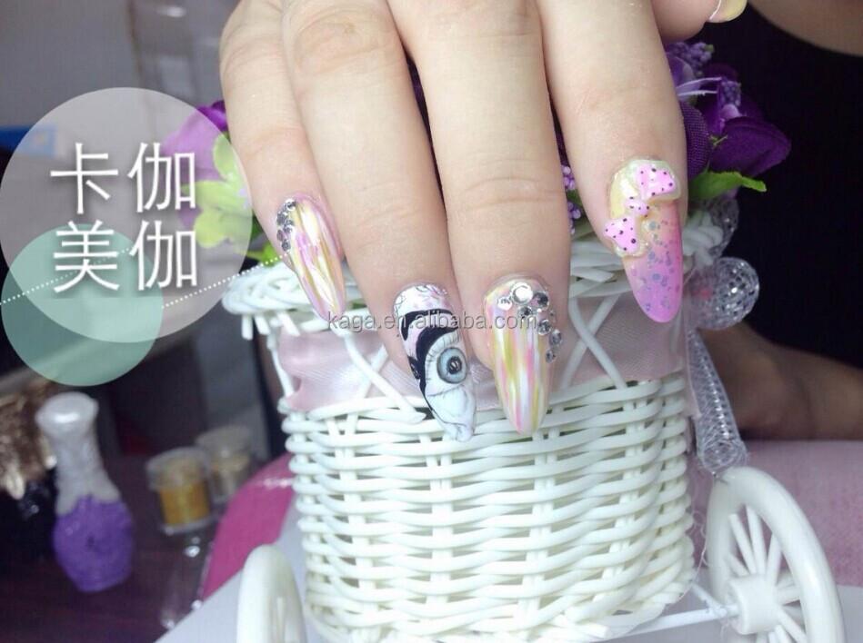 Kaga Nails Art Color Chart White Uv Nail Gel Polish - Buy Uv Nail ...