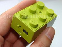 Novelty,Colorful,Eazzzy Special Effects blocks mini Digital recorder,720*480 AVI lomo video camera,,portable recorder