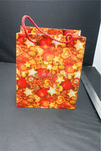 Packaging plastic shopping bag full printed with color drawstring gift and crafts packaging