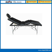 Aluminum Massage Table 4 Section Massage Bed Therapy Massage Table (Y-MT4723)