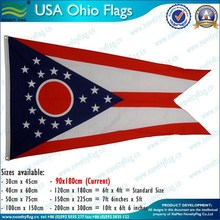 Fast delivery polyester 3x5ft USA flag