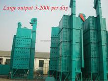 100-150 TPD circulación granja arroz secador
