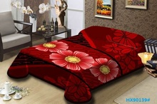 Bed sheets 3D blanket in different size and color