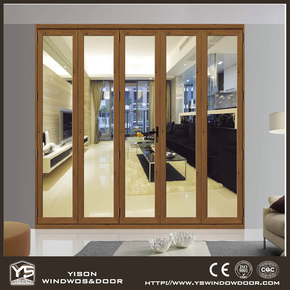 interior bifold doors sliding glass folding door tempered