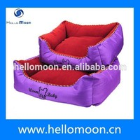 Newest Arrival Factory Wholesale Luxury Purple Pet Bed for Dog