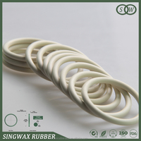 food grade white silicone rubber O ring seal for water purifier