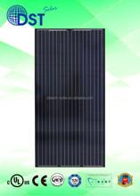 290W-320W 72 cells TUV/MCS/UL/CEC/JET Taiwan Black Poly Solar Module/Solar Panel