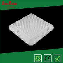 High brightness 20w emergency bulkhead square shape led ceiling light