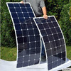 135W Flexible Solar Panel - Easy Solution to Various battery