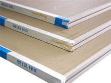 KNAUF high quality fireproof paperbacked plasterboards drywall/gypsum board