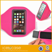 2015 New Sports Gym Bike Bicycle armband Jogging/Running Armband with Slots and Key Holder for iPhone6