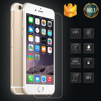 Guangzhou mobile accessories market clear tempered glass screen protector for iphone 6 plus