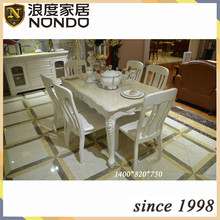Rectangle table wood carved dining room tables D0008BY