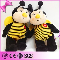 Wholesale Wonderful Design Stuffed Bee Toy
