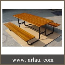 (TB-032) Garden Wooden Bench Table Set