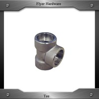 forged pipe fitting 3000 class tee