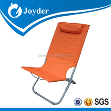 outdoor furniture colorful fabric tall seat folding adjustable easy beach chair