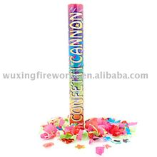 party popper with confetti colorful flower/confetti party shooter