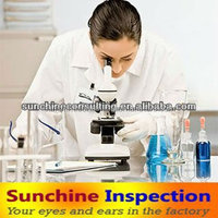 LAB TEST/Inspection service/garment/electronic/machines/sourcing/search product