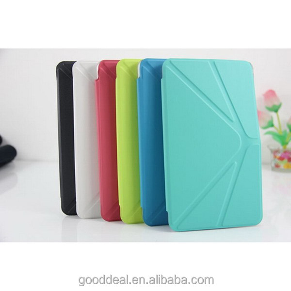 New Design Flip Leather Tablet Case for Samsung Tab 4 T230 7inch