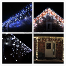 outdoor christmas lights led red xmas lights led icicles christmas lights